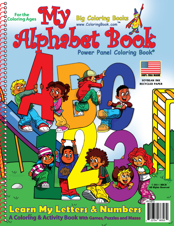 Kids Coloring Book Cover ~ Free coloring pages of abc book cover
