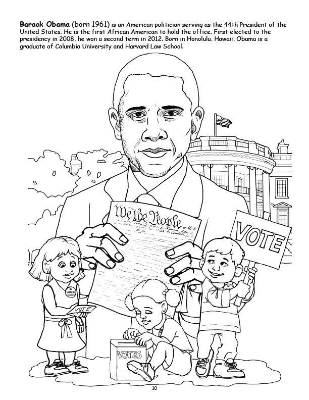 12 pack african american leaders coloring book 85x11 - African American Coloring Books