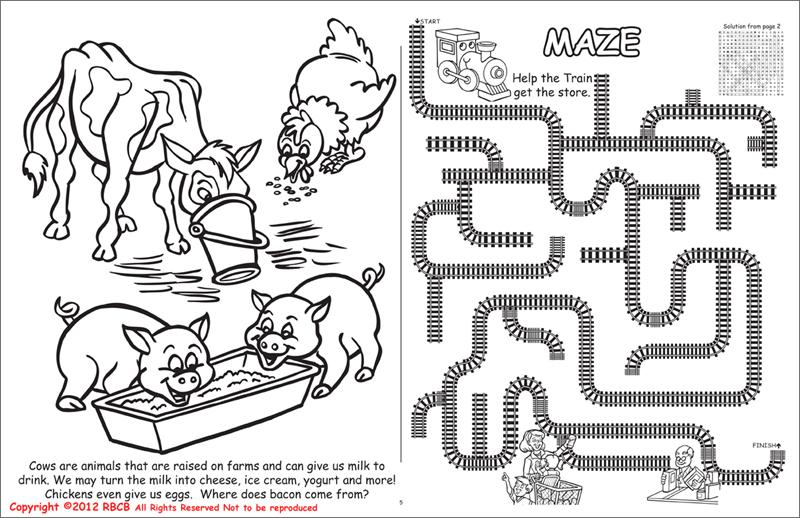 wholesale coloring books all about agriculture - Wholesale Coloring Books