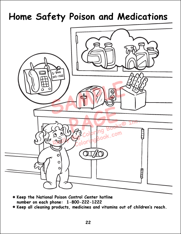 Wholesale Coloring Books | Child Safety regular