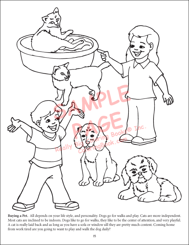 pack of dogs coloring pages - photo#5