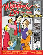 It's a Wonderful Life for Kids Coloring Book