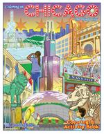 "(12 pack) Chicago 'The Windy City' Coloring and Activity Book (8.5"" x 11"")"