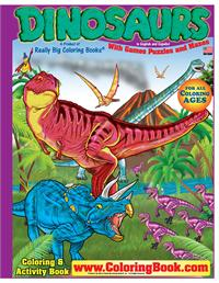 Dinosaurs Really Big Coloring Book