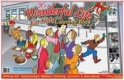 It's a Wonderful Life for Kids Laptop Coloring Book