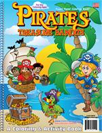 Pirates Treasure Bandits Coloring Book