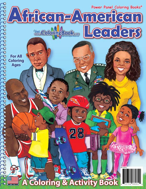 Wholesale Coloring Books | African American Leaders