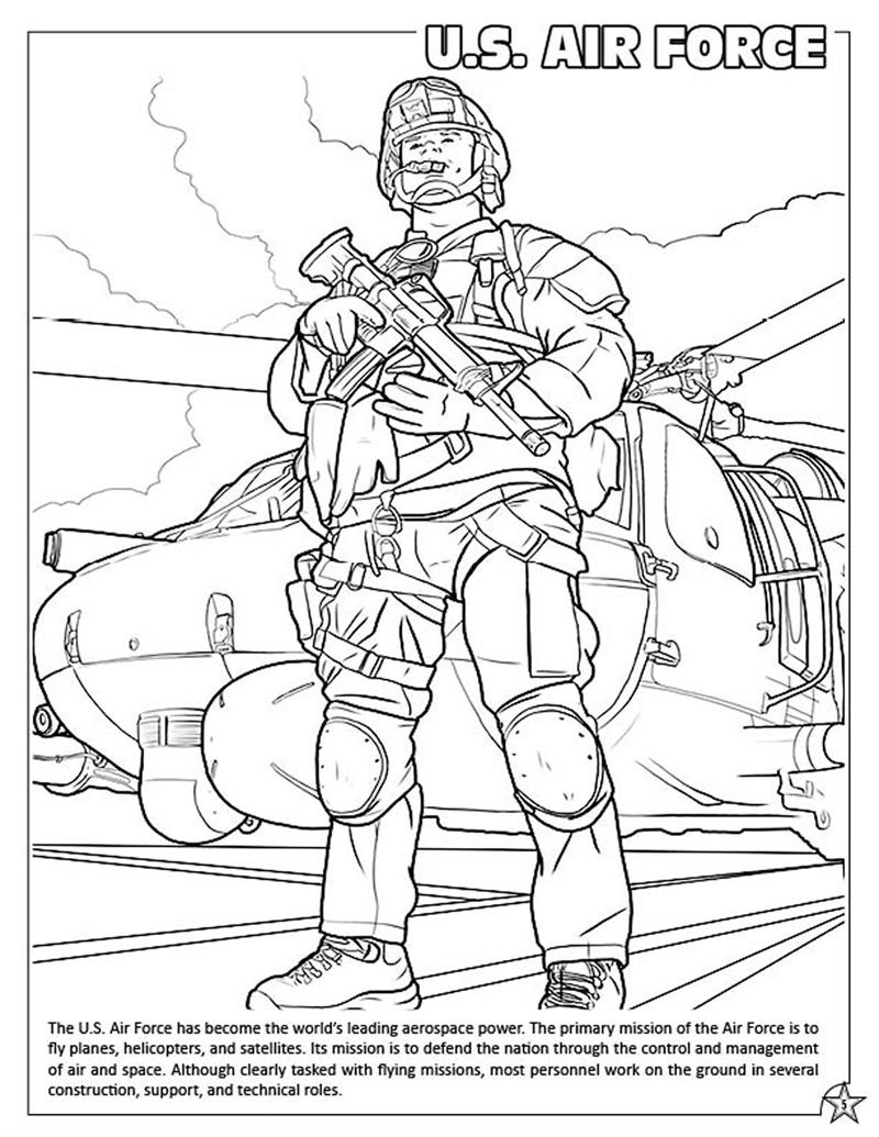 Coloring Books U S Armed Forces Coloring Amp Activity Book