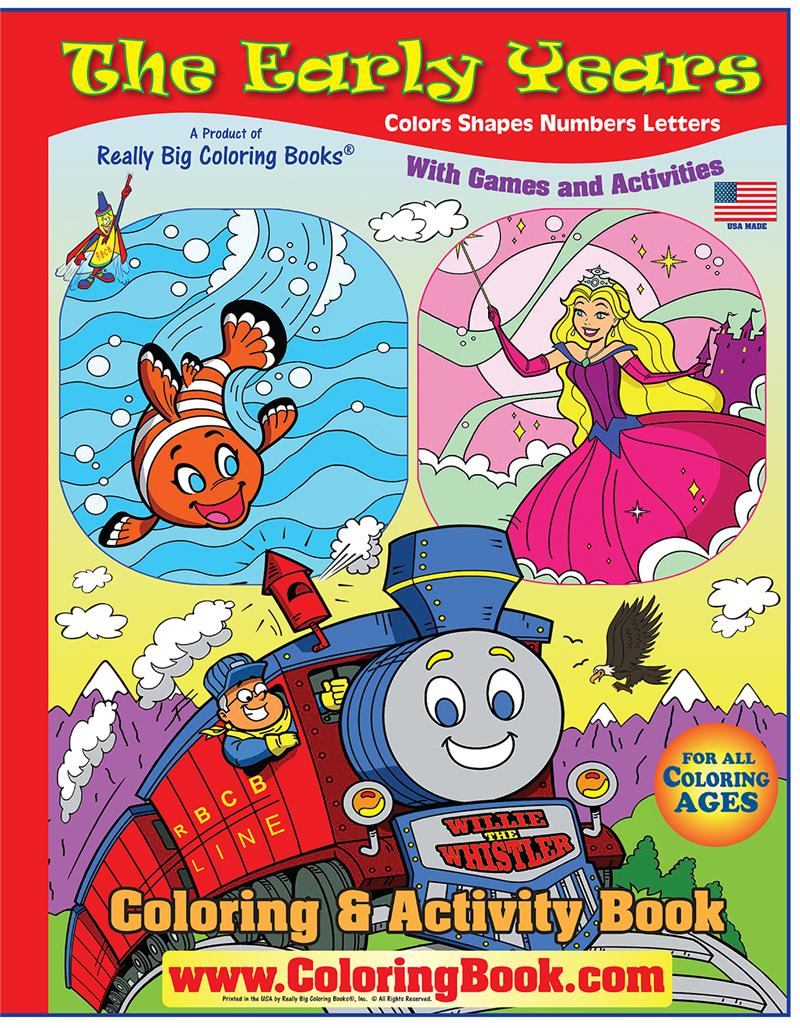 Early Years big - Wholesale Coloring Books