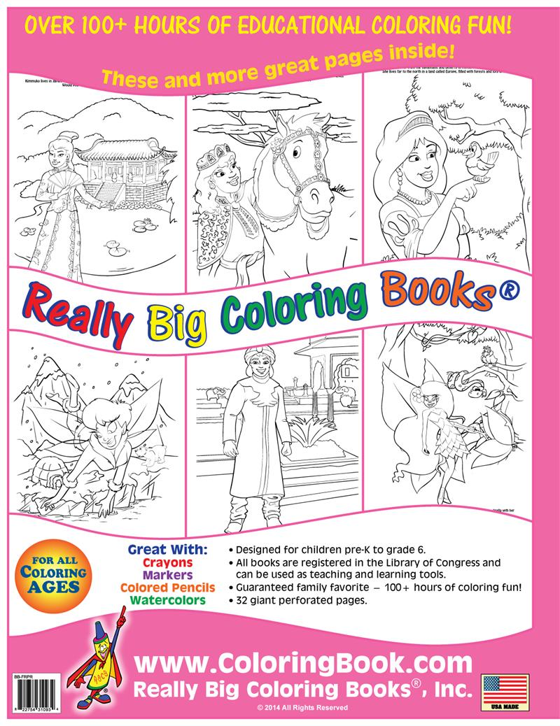 Wholesale Coloring Books | Fairies & Princesses Coloring Book