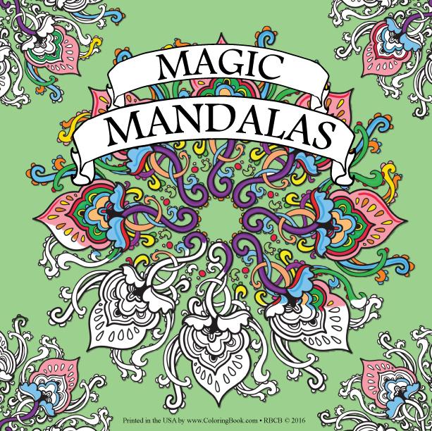 Magic Mandalas Coloring Book - Wholesale Coloring Books