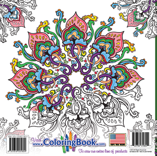 Wholesale Coloring Books | Magic Mandalas Coloring Book
