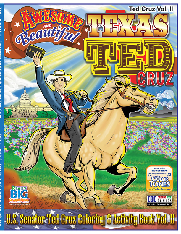 Ted Cruz - Awesome and ... - Wholesale Coloring Books