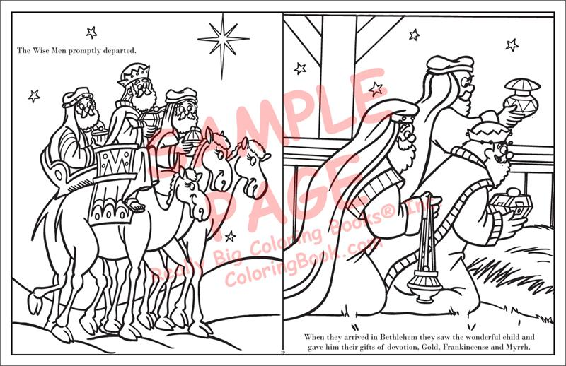 Wholesale Coloring Books | Story of Christmas