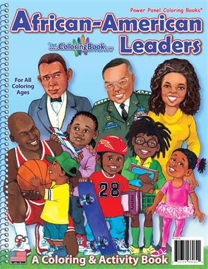 African American Leaders Coloring Book