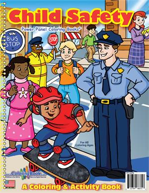 Child Safety Coloring Book