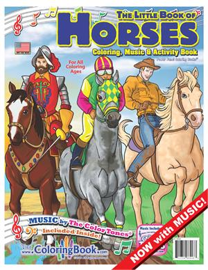 "Horses Coloring Book with ""Horses Ride"" Song"