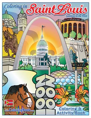 Saint Louis 'Gateway to the West' Coloring Book