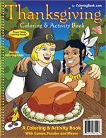 Thanksgiving Coloring Book (8.5