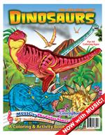 Dinosaurs Coloring Book with