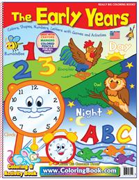 Early Years Really Big Coloring Book