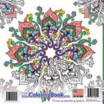 Magic Mandalas Coloring Book back cover