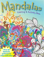 "Mandalas Coloring Book (8.5"" x 11"")"