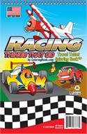 Racing Things That Go Coloring Books