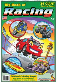 Racing Coloring Book