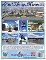 Saint Louis 'Gateway to the West' Coloring Book back cover