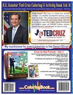 Awesome and Beautiful Texas Ted Cruz Coloring Book