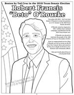 Robert Francis - Beto - O'Rourke coloring page