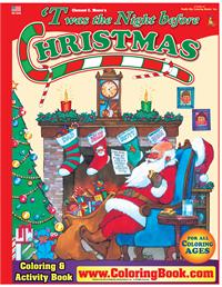 Twas the Night Before Christmas Big Coloring Book