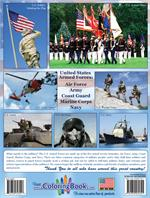 U.S. Armed Forces Coloring & Activity Book back cover