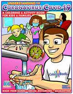 Coronavirus COVID19 Coloring Activity Book for Youth