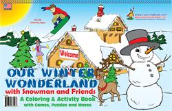 Our Winter Wonderland Coloring Book
