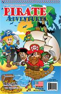 Pirate Adventures Coloring Book